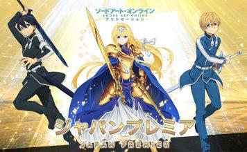 Novo Poster de Sword Art Online 3