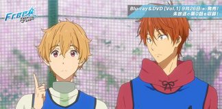 Trailer do episódio 0 de Free! 3
