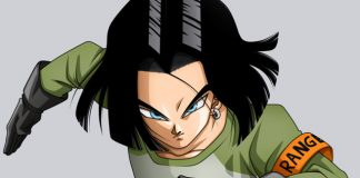 Android 17 em Dragon Ball FighterZ