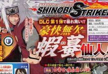 Jiraiya em Naruto to Boruto: Shinobi Striker como DLC