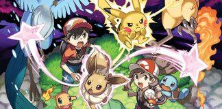 Novos detalhes sobre Pokémon: Let's Go, Pikachu! e Pokémon: Let's Go, Eevee!