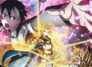 Revelada data de estreia de Sword Art Online 3