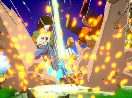 Screenshots de Android 17 em Dragon Ball FighterZ