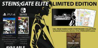 Steins;Gate Elite no ocidente em Fevereiro