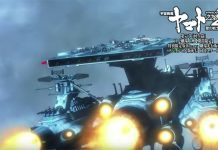 11 minutos do 6º filme de Space Battleship Yamato 2202