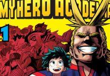 Ganha o 1º volume de My Hero Academia pela Editora Devir