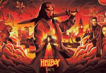 Imagem promocional do reboot de Hellboy