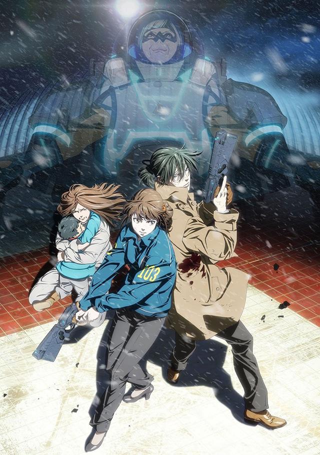 Imagens promocionais dos filmes de Psycho-Pass SS
