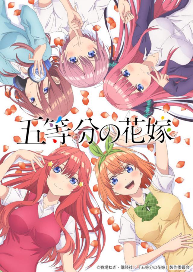 Nova imagem promocional de Go-Toubun no Hanayome
