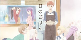 Nova imagem promocional de Today's Menu for Emiya Family