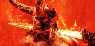 Poster do reboot de Hellboy