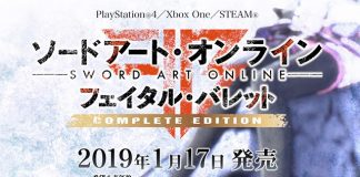 Sword Art Online: Fatal Bullet Complete Edition no Japão a 17 de Janeiro