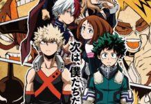 Boku no Hero Academia 3 ultrapassa One piece na tv japonesa