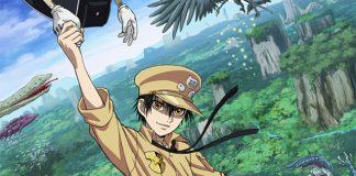 1ª imagem promocional do anime de Gunjou no Magmell