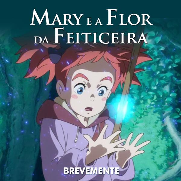 Mary and the Witch's Flower nos cinemas portugueses em 2019