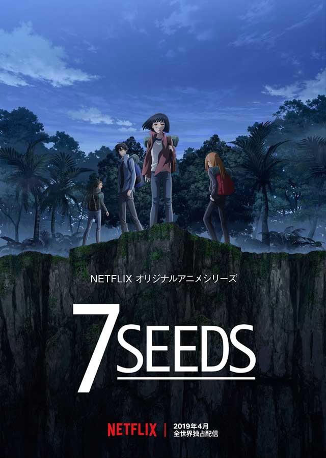 Anime de 7SEEDS em Abril de 2019
