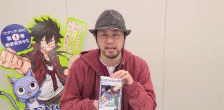 Autor de Fairy Tail deixa mensagem aos fãs em vídeo