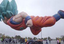 Balão gigante de Son Goku