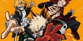Capa do 3º volume DVD/BD de My Hero Academia 3