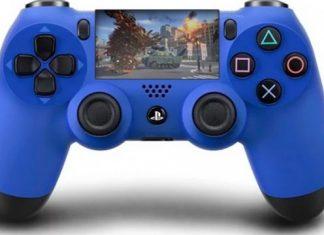 Comando com um ecrã táctil - Playstation 5