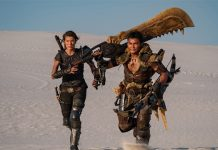 Foto das filmagens de Monster Hunter Live-action