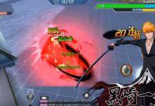 Gameplay do novo jogo de Bleach