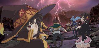 Imagem promocional do filme de KonoSuba