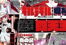 Nonon Jakuzure e Houka Inumuta em Kill la Kil The Game: IF