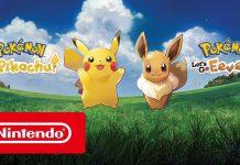 Trailer de lançamento de Pokémon Let's Go, Pikachu! e Pokémon Let's Go, Eevee!