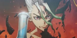 Novo visual do anime de Dr. STONE revelado na Jump Festa 2019
