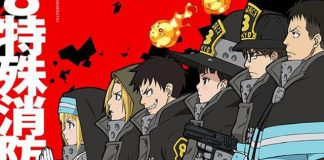 Nova imagem promocional do anime de Fire Force