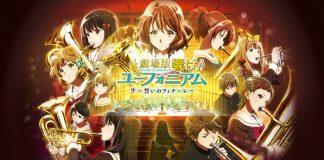 Novas imagens promocionais de Hibike! Euphonium: Chikai no Finale