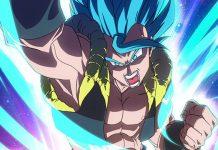 Novo Poster de Dragon Ball Super: Broly destaca Gogeta