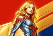Poster CCXP de Captain Marvel