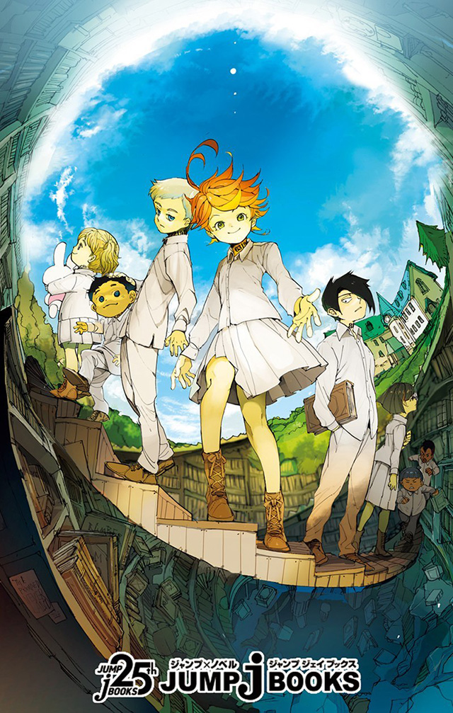 The Promised Neverland vai ter novel spinoff