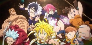 The Seven Deadly Sins: Prisoners of the Sky na Netflix