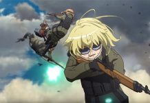 Trailer do filme de Youjo Senki revela data de estreia