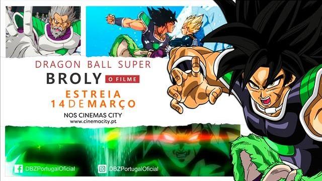 Dragon Ball Super Broly estreia no dia 14 de março em Portugal