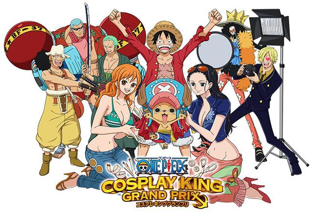 Abertas inscrições para o One Piece Cosplay King Grand Prix