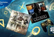For Honor e HITMAN em Fevereiro 2019 no PlayStation Plus + 100GB de espaço