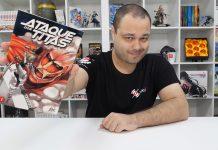 Ganha o 1º volume de Ataque dos Titãs pela JBC Portugal