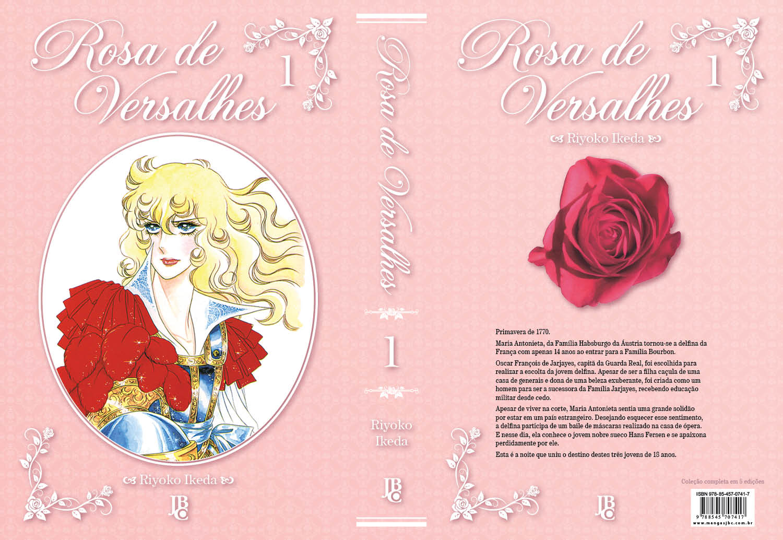JBC divulga o preço e a capa completa de Rosa de Versalhes