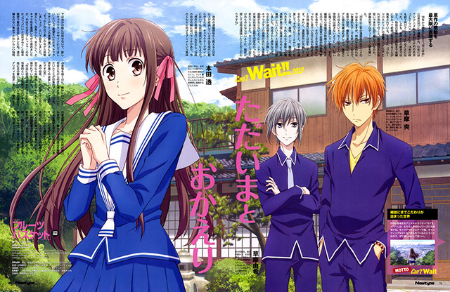 Novo anime de Fruits Basket em Abril de 2019