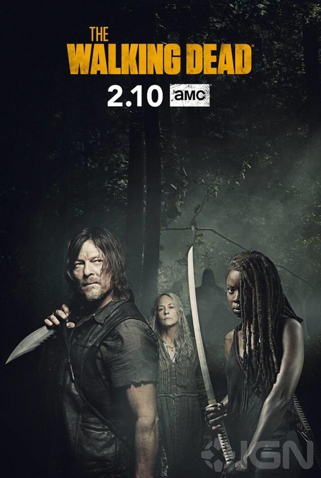 Poster da 2ª parte de The Walking Dead 9