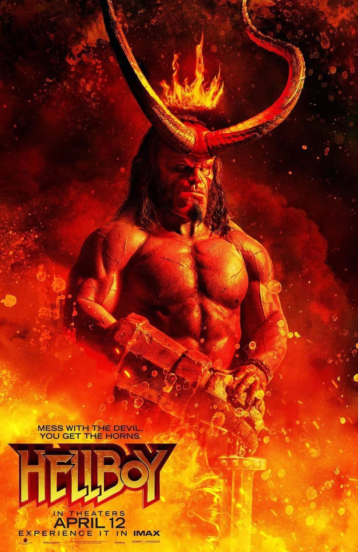 Posters do reboot de Hellboy