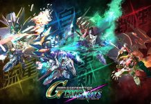 SD Gundam G Generation Cross Rays para PS4, Switch e PC