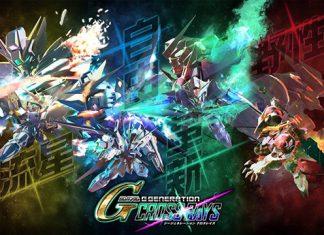 SD Gundam G Generation Cross Rays para PS4, Switch e PC
