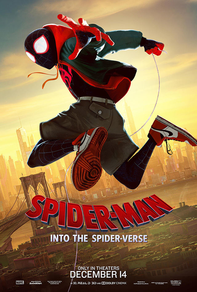 Spider-Man: Into the Spider-Verse ganha 76ª edição dos Golden Globes