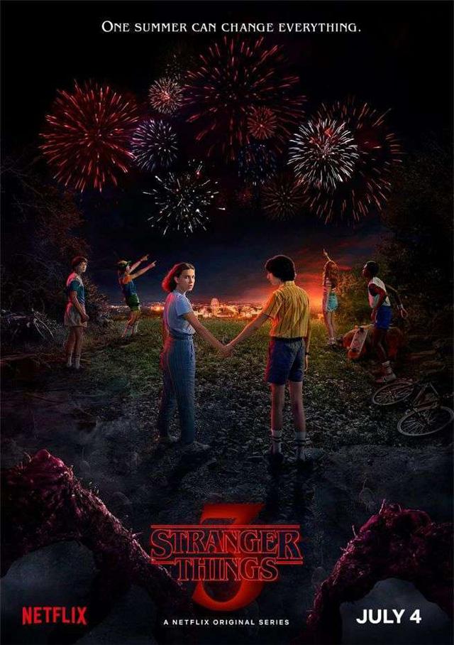 Stranger Things 3 vai estrear a 4 de Julho