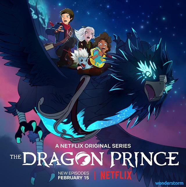 The Dragon Prince 2 em Fevereiro na Netflix